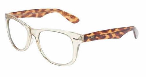 Lucky Brand Designer Eyeglasses Beach Bum in Yellow Crystal :: Rx Bi-Focal