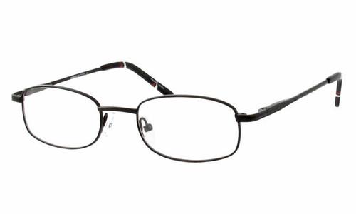 Seventeen Designer Eyeglasses 5303 in Black :: Rx Bi-Focal
