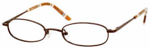 Seventeen Designer Eyeglasses 5303 in Brown :: Rx Bi-Focal