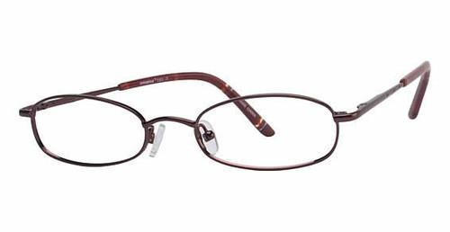 Seventeen Designer Eyeglasses 5303 in Burgundy :: Rx Bi-Focal