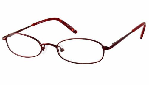 Seventeen Designer Eyeglasses 5305 in Burgundy :: Rx Bi-Focal