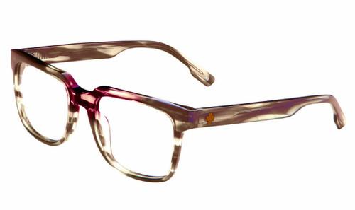 Spy+ Rx Designer Eyeglasses Crista in Pink Dahlia :: Rx Bi-Focal