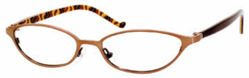 Valerie Spencer Designer Eyeglasses 9107 in Bronze :: Rx Bi-Focal