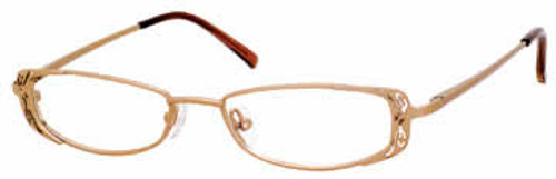 Valerie Spencer Designer Eyeglasses 9118 in Mocha :: Rx Bi-Focal