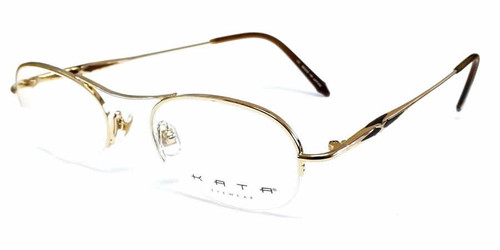Kata Designer Eyeglasses 191 Noa in Brown :: Rx Bi-Focal
