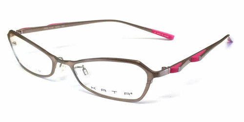 Kata Designer Eyeglasses 129 Rose in Rose :: Rx Bi-Focal