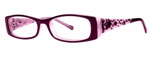 00394715c60 Calabria Viv 695 Designer Eyeglasses in Purple    Rx Bi-Focal
