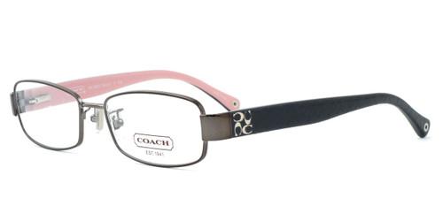 Coach Womens Designer Reading Glasses 5001 in Dark Silver (9021)