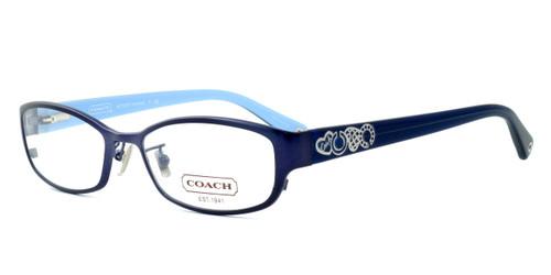 Coach Womens Designer Reading Glasses 'Summer' HC5007 in Satin Blue (9047) 52mm