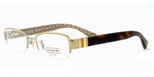 Coach Womens Designer Reading Glasses 5027B in Gold Tortoise (9080)