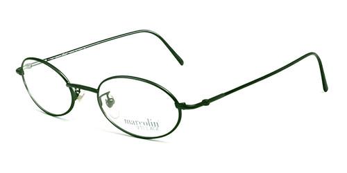 Marcolin Designer Eyeglasses 6454 in Green 48 mm :: Rx Bi-Focal