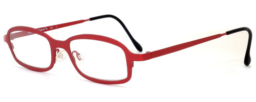 Harry Lary's French Optical Eyewear Bill Reading Glasses in Red (360)