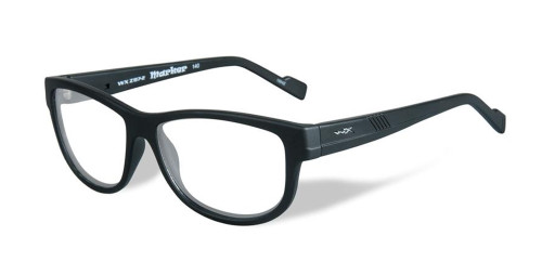 Wiley-X Marker Optical Eyeglass Collection in Matte-Black (WSMAR01) :: Rx Bi-Focal