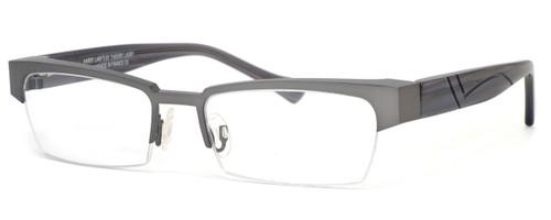 Harry Lary's French Optical Eyewear Idoly in Gunmetal (329)