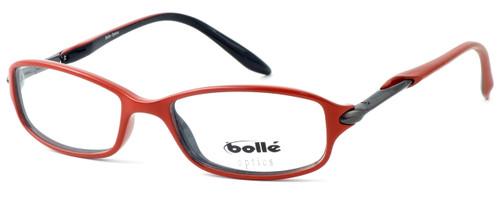 Bollé Designer Eyeglasses Elysee in Opaque Red 70217 50mm :: Rx Bi-Focal