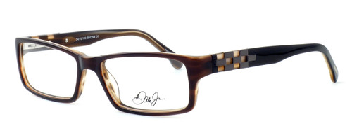 Dale Earnhardt, Jr. 6756 Designer Eyeglasses in Brown :: Rx Bi-Focal