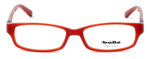 Bollé Deauville Designer Eyeglasses in Brick Red :: Rx Bi-Focal