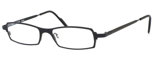 Harry Lary's French Optical Eyewear Victory in Black (101)