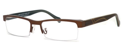 Harry Lary's French Optical Eyewear Empiry in Brown (457)