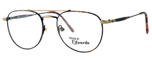 Regency International Designer Eyeglasses Geoffrey Antique & Gold Tortoise 53mm :: Rx Bi-Focal