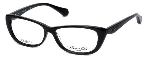 Kenneth Cole Designer Eyeglasses KC0202-001 in Black :: Rx Bi-Focal