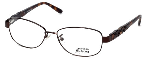 Guess by Marciano Designer Eyeglasses GM155-BRNTO in Brown-Tort :: Rx Bi-Focal