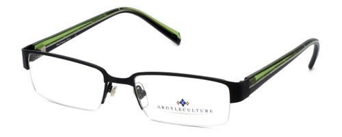 Argyleculture Designer Eyeglasses Bowie in Black :: Rx Bi-Focal