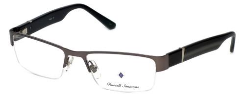Argyleculture Designer Eyeglasses Parker in Charcoal 57mm :: Rx Bi-Focal