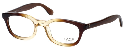 FACE Stockholm Busy 1316-9201 Designer Eyeglasses in Brown Beige :: Rx Bi-Focal