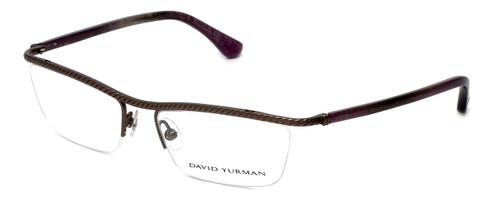 David Yurman Designer Eyeglasses DY043-00 in Gunmetal 53mm :: Rx Bi-Focal