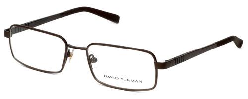 David Yurman Designer Eyeglasses DY619-02 in Brown 55mm :: Rx Bi-Focal