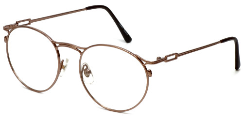 Regency Designer Eyeglasses New York in Brown 51mm :: Rx Bi-Focal