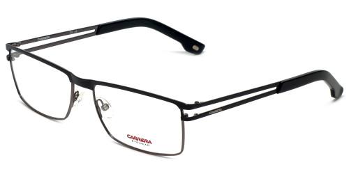 Carrera Designer Eyeglasses CA7580-832 in Black Gunmetal 55mm :: Rx Bi-Focal