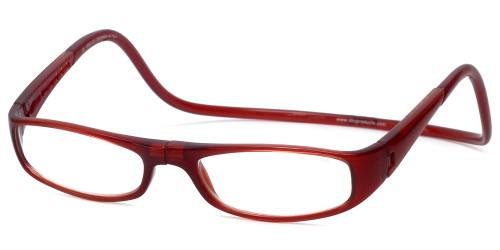 7975fbc07b Clic Designer Eyeglasses Euro Style in Bordeaux    Rx Bi-Focal
