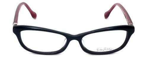 Lilly Pulitzer Designer Eyeglasses Adelson in Black 53mm :: Custom Left & Right Lens