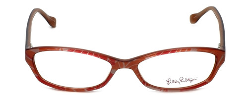 Lilly Pulitzer Designer Eyeglasses Annie in Pink 52mm :: Custom Left & Right Lens