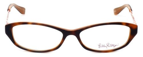 Lilly Pulitzer Designer Eyeglasses Avaline in Havana 53mm :: Custom Left & Right Lens