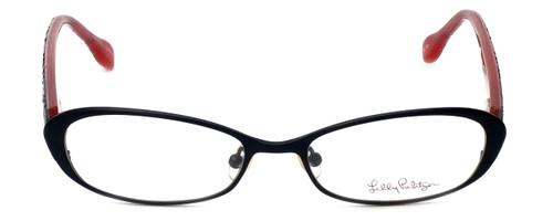 Lilly Pulitzer Designer Eyeglasses Callahan in Black 50mm :: Custom Left & Right Lens