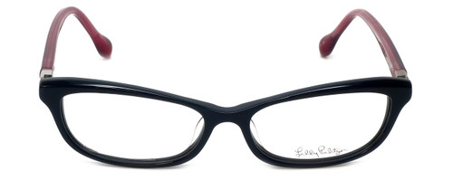 Lilly Pulitzer Designer Eyeglasses Adelson in Black 53mm :: Rx Single Vision