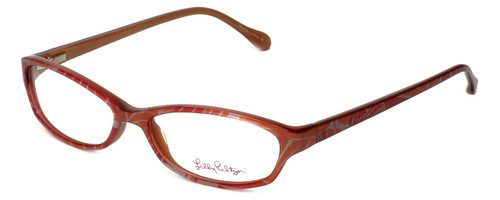 Lilly Pulitzer Designer Eyeglasses Annie in Pink 52mm :: Rx Single Vision