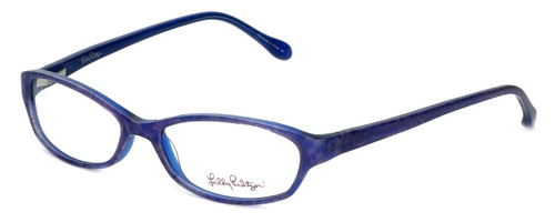 Lilly Pulitzer Designer Eyeglasses Annie in Purple  52mm :: Rx Single Vision