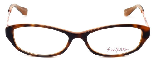 Lilly Pulitzer Designer Eyeglasses Avaline in Havana 53mm :: Rx Single Vision