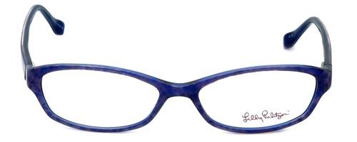 Lilly Pulitzer Designer Eyeglasses Annie in Purple  52mm :: Progressive