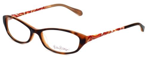 Lilly Pulitzer Designer Eyeglasses Avaline in Havana 53mm :: Progressive