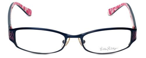 Lilly Pulitzer Designer Eyeglasses Cassidie in Blue  52mm :: Progressive