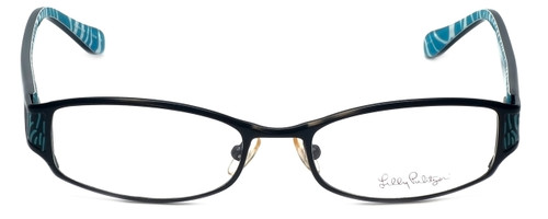 Lilly Pulitzer Designer Eyeglasses Cassidie in Black 52mm :: Rx Bi-Focal