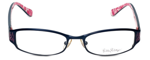 Lilly Pulitzer Designer Eyeglasses Cassidie in Blue  52mm :: Rx Bi-Focal