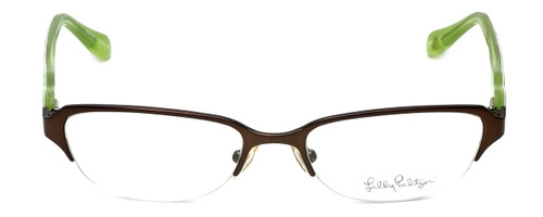 Lilly Pulitzer Designer Eyeglasses Jade in Brown 50mm :: Rx Bi-Focal