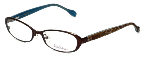 Lilly Pulitzer Designer Reading Glasses Callahan in Brown 50mm