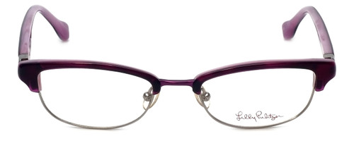 3daa648467b Lilly Pulitzer Designer Eyeglasses Collins in Brown 50mm    Custom ...